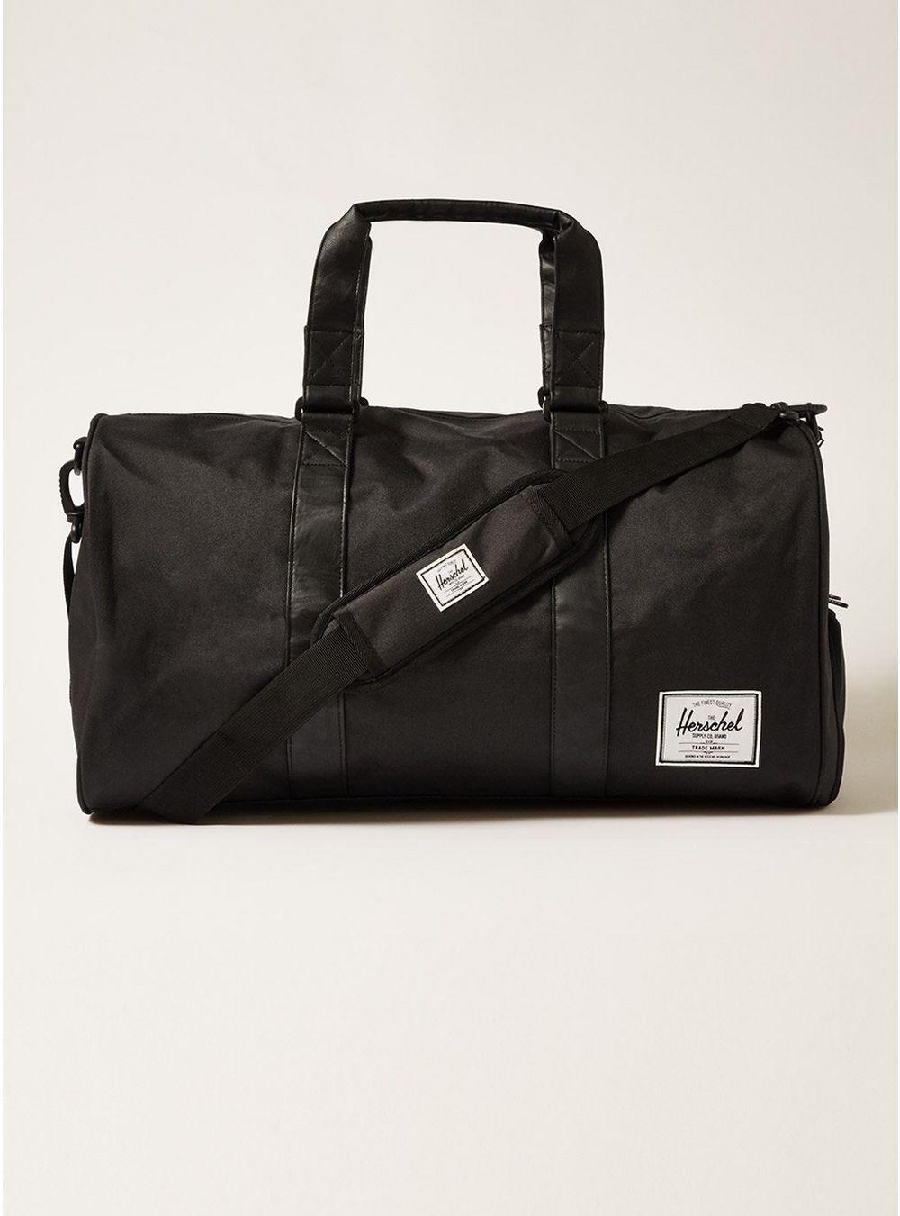 bc65c099b92a Herschel Supply Co. Black  sutton  Duffle Bag in Black for Men - Lyst