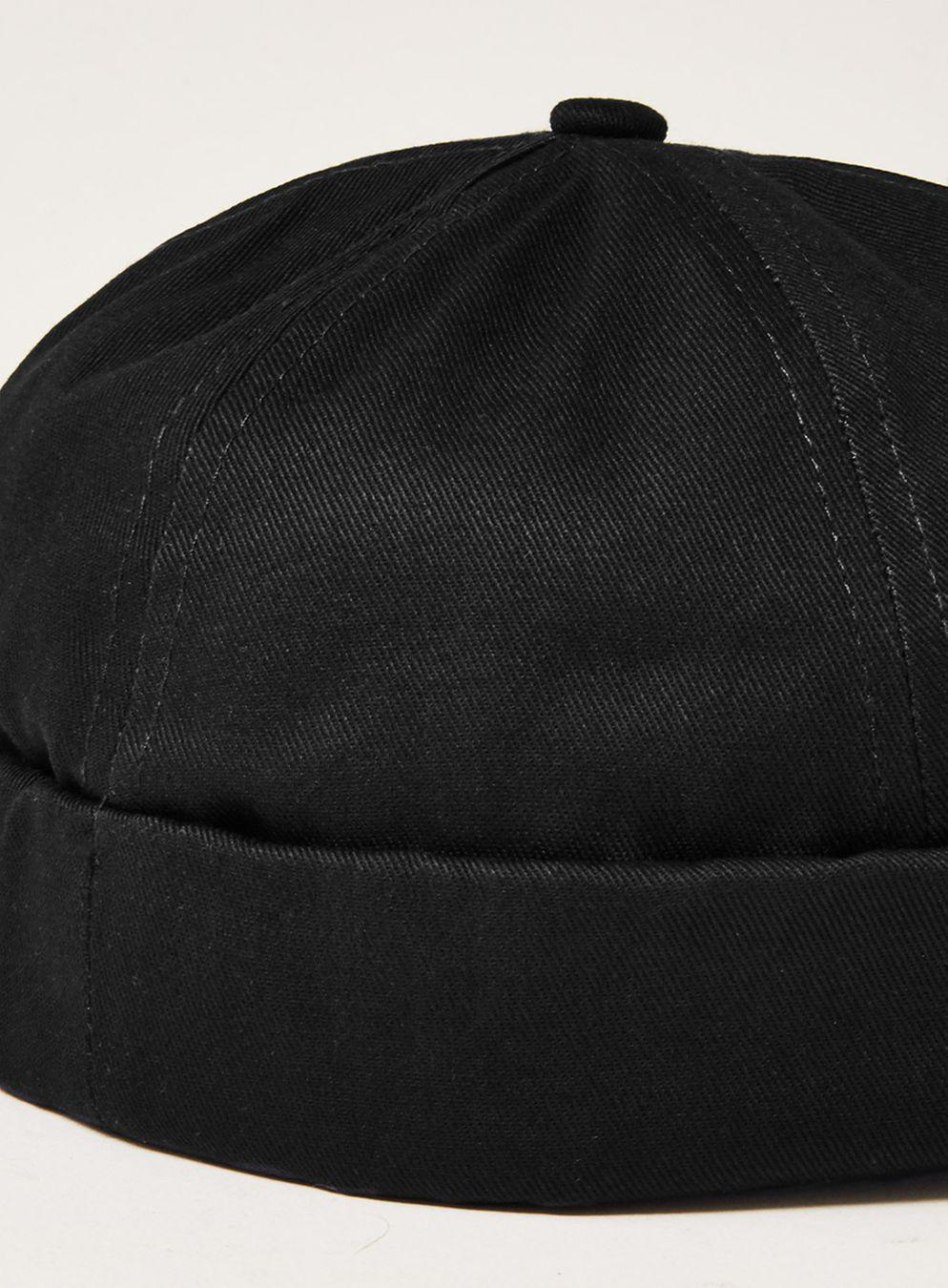 67aad6fee1c7d Lyst - TOPMAN Black Docker Beanie in Black for Men