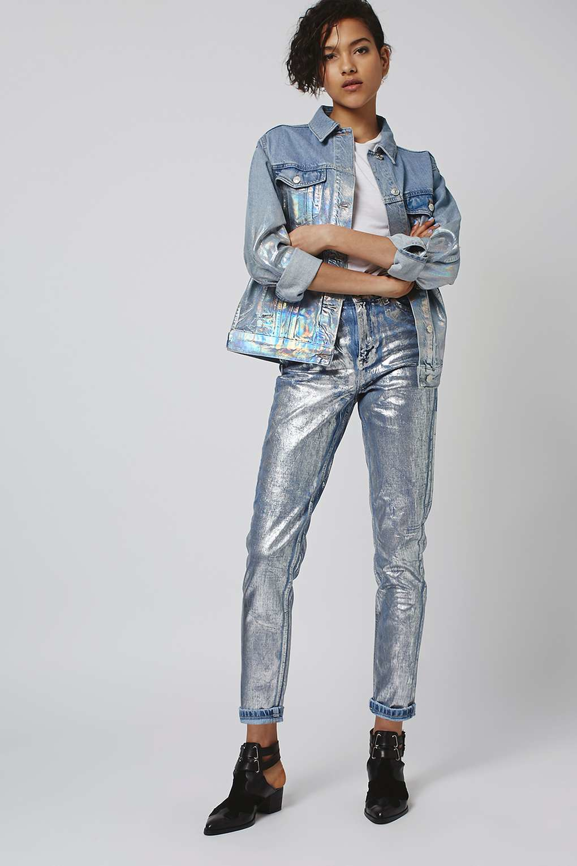 Oversize jeansjacke topshop