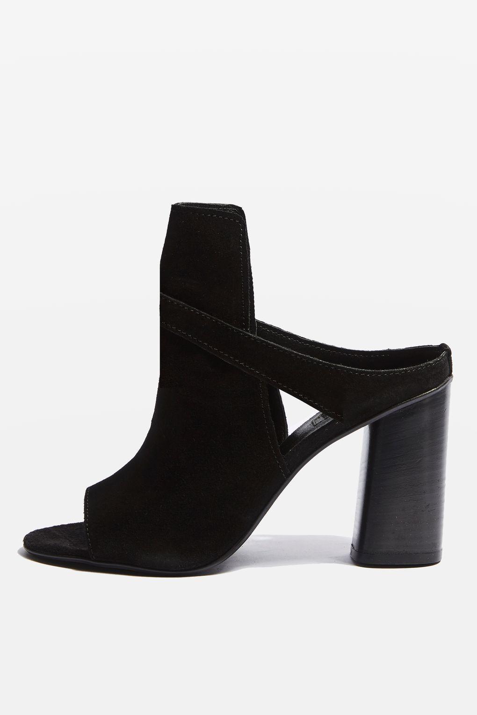 Nico Suede Heeled Shoe Boots