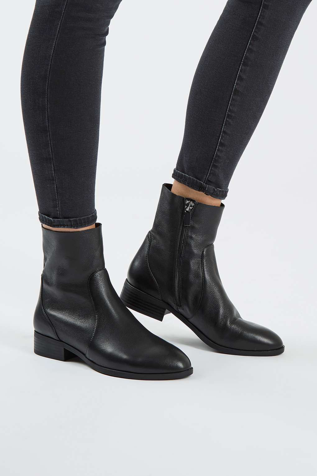 Lyst - Topshop Klash Boot in Black