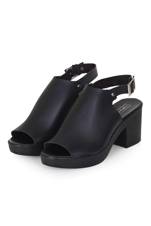80214c6dee0 Topshop Netting Shoe Boots in Black