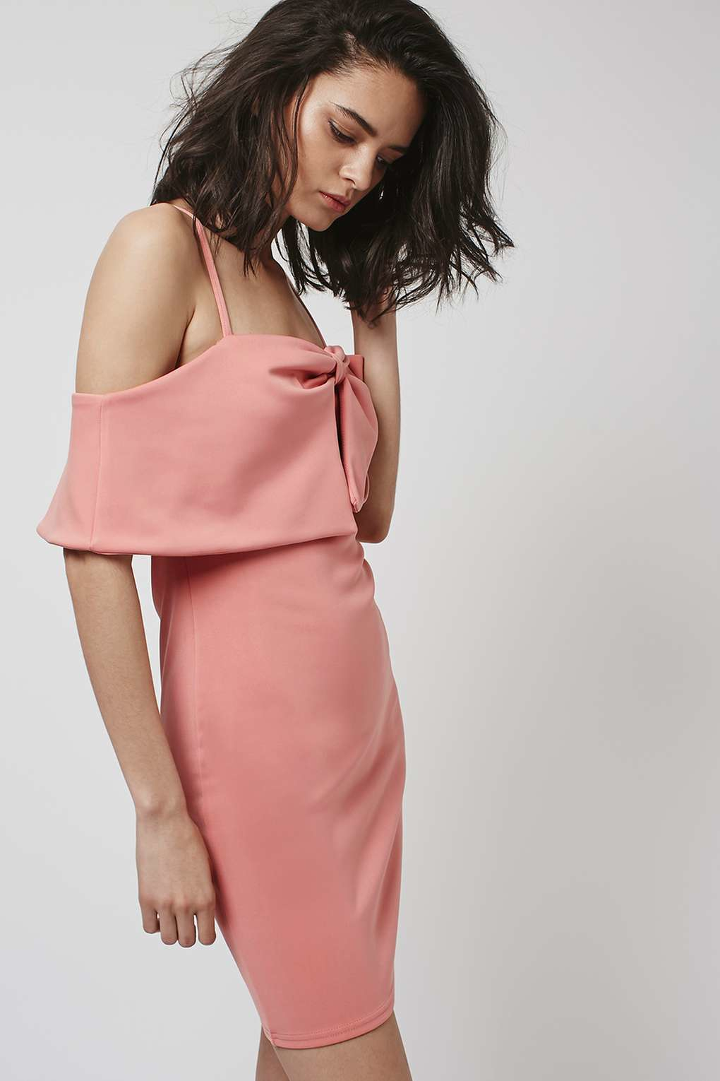 Lyst Topshop Dress By Oh My Love In Pink