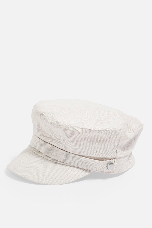 1774c75030719 TOPSHOP - Multicolor Baker Boy Hat - Lyst. View fullscreen