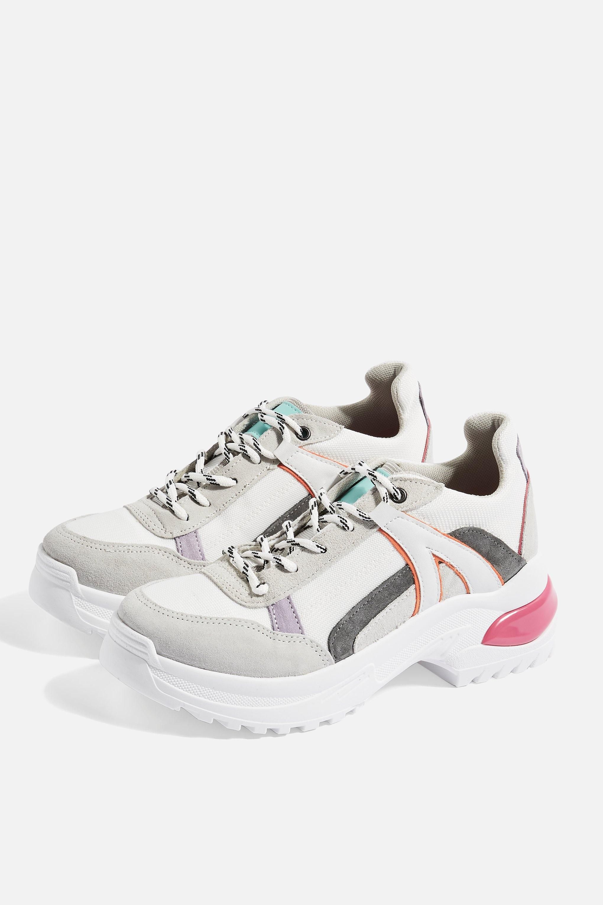 Topshop Trainers Chicago Lyst Up Lace tdsxhQrC