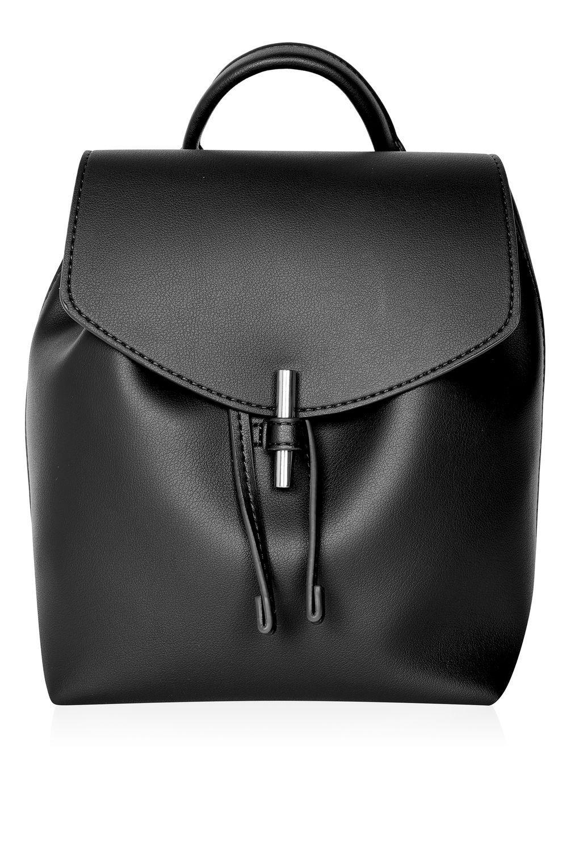 9434eca3ff6e Lyst - TOPSHOP Blake Mini Backpack in Black