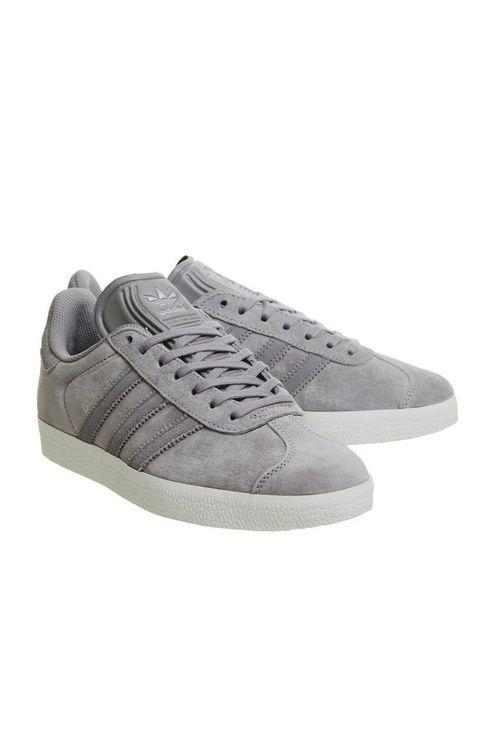 65f9a394a8e Office adidas Gazelle Trainers By Office in White - Lyst