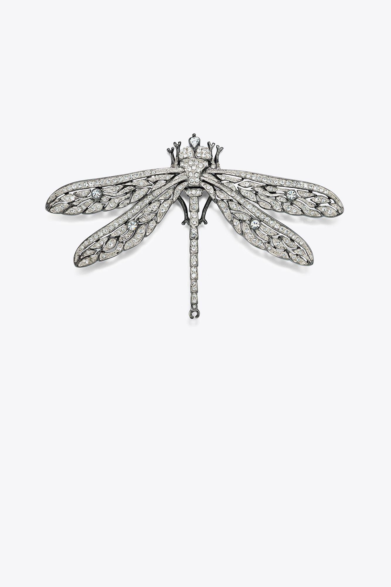 Tory Burch. Women's Metallic Kenneth Jay Lane For Dragonfly Pin