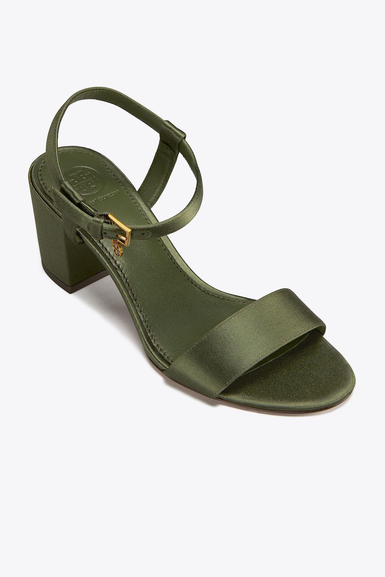 be71517dbe7d Tory Burch Laurel Ankle Strap Sandal (women) in Green - Lyst