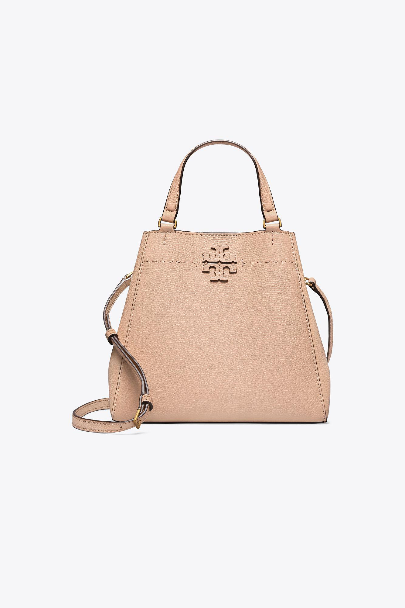24108d2fb1cf Lyst - Tory Burch Mcgraw Small Carryall in Natural