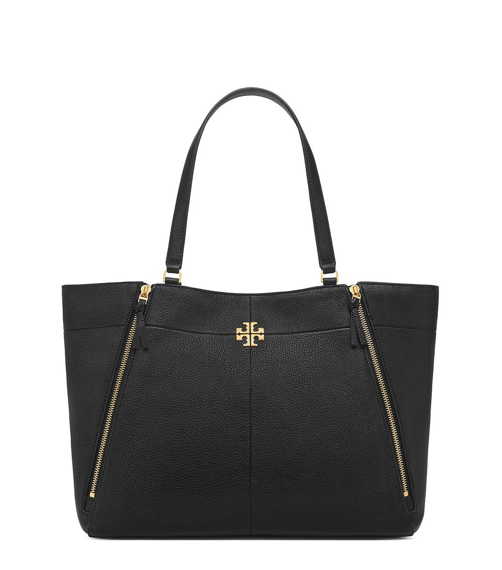 Tory Burch Ivy Tote Black Lyst