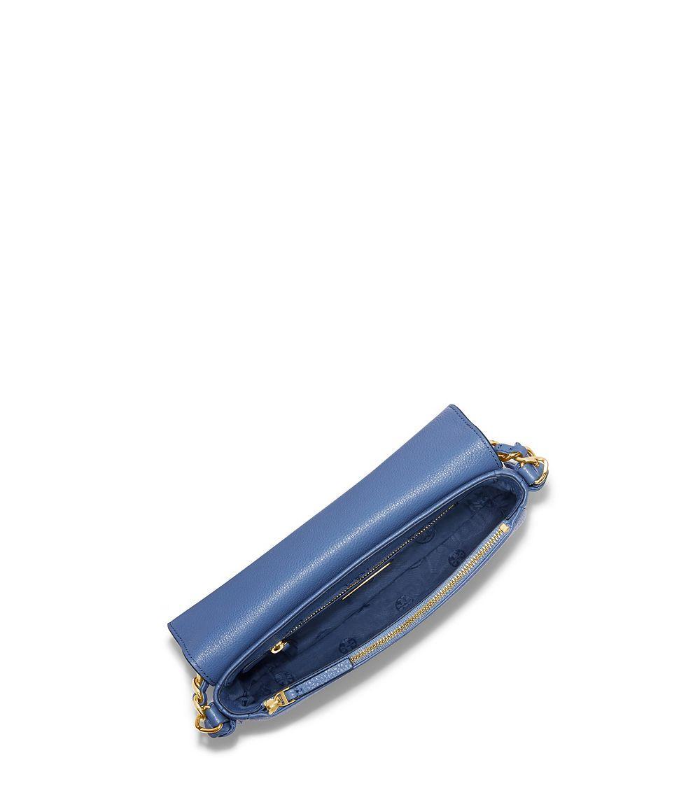 f584238f254e8 Lyst - Tory Burch Harper Mini Cross-body in Blue