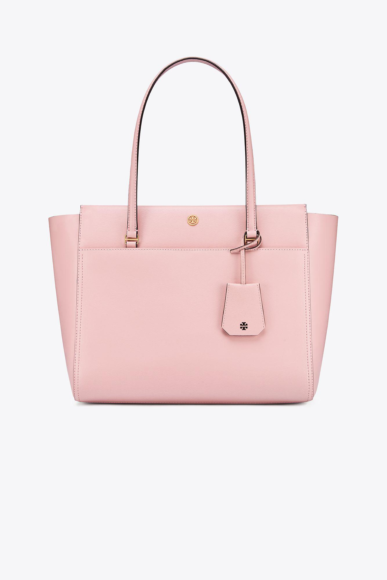 Tory Burch Parker Tote in Pink - Lyst 12d3bca8e7