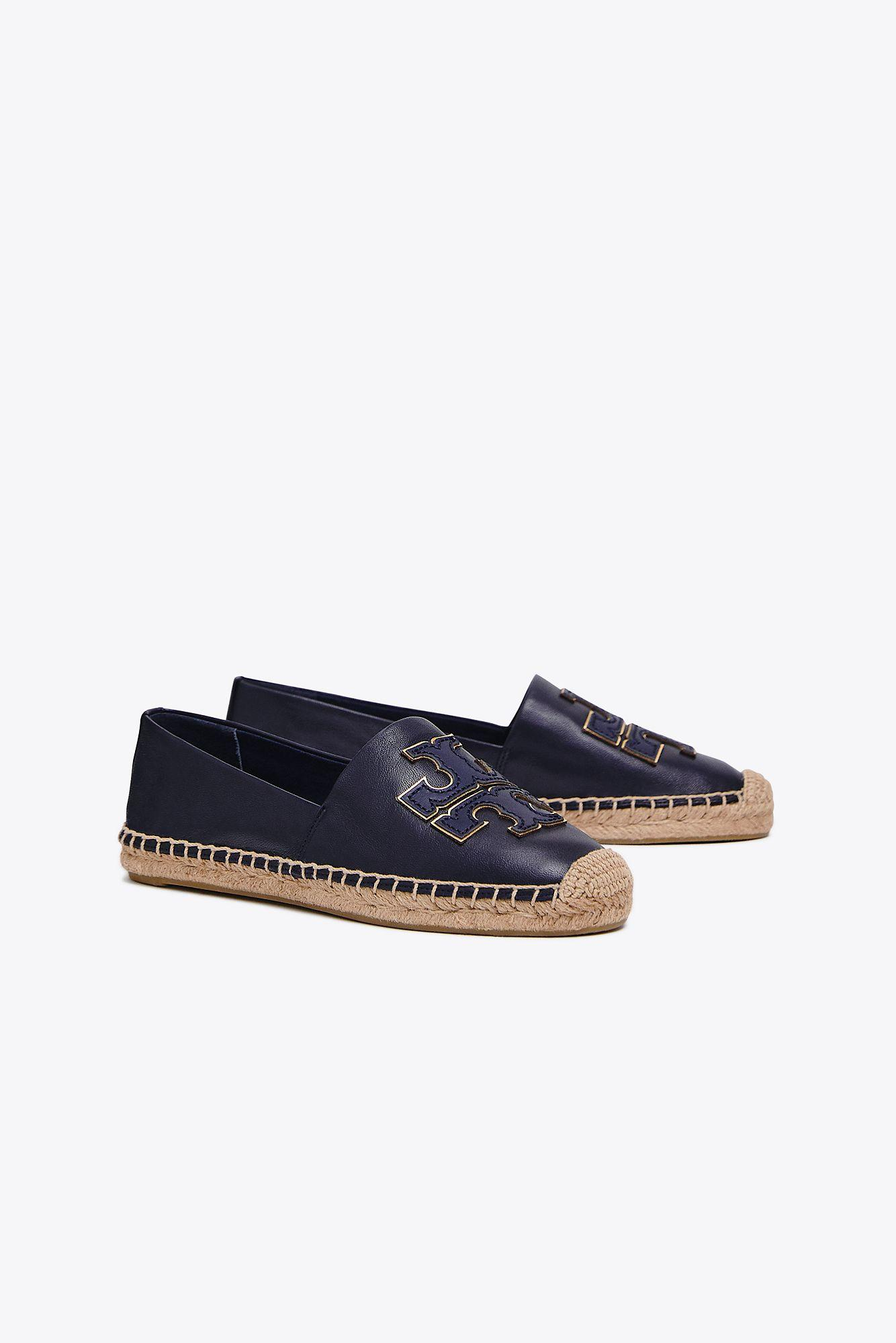 d04695150d8f08 Tory Burch Ines Espadrille (perfect Navy perfect Navy gold) Women s ...