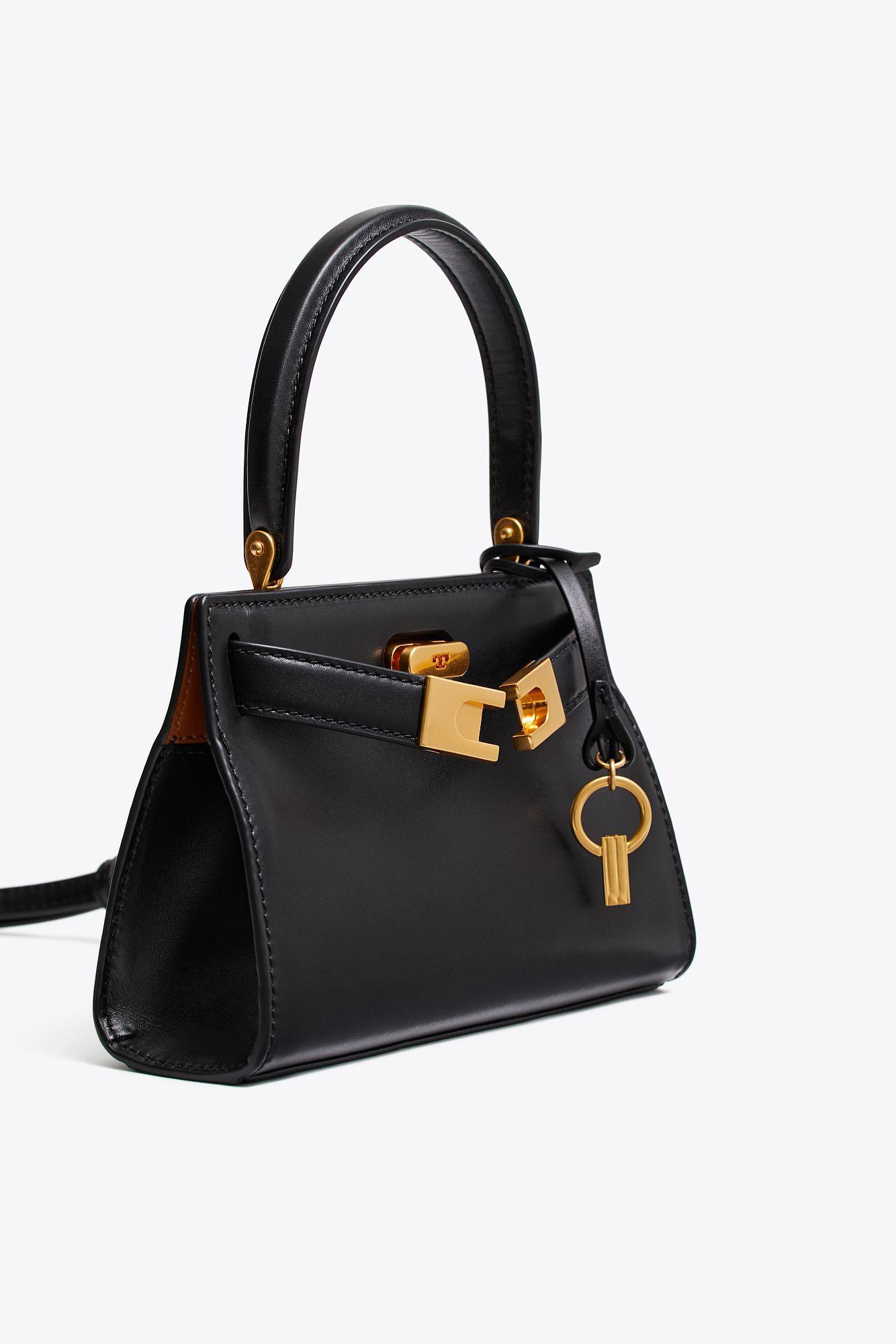 25b9e80e568d Tory Burch - Black Lee Radziwill Petite Bag - Lyst. View fullscreen