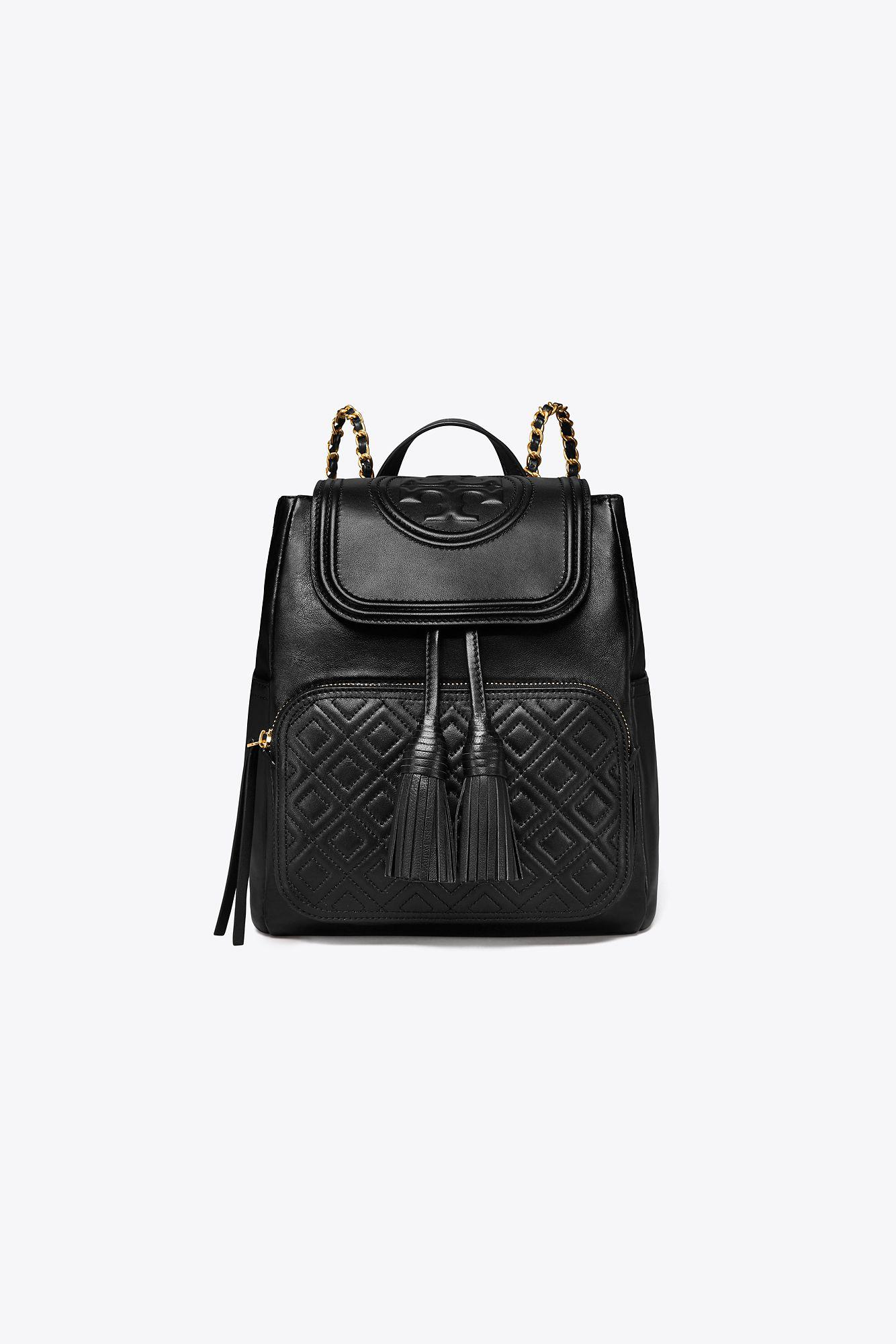 f4352710691 Lyst - Tory Burch Fleming Backpack in Black - Save 36%