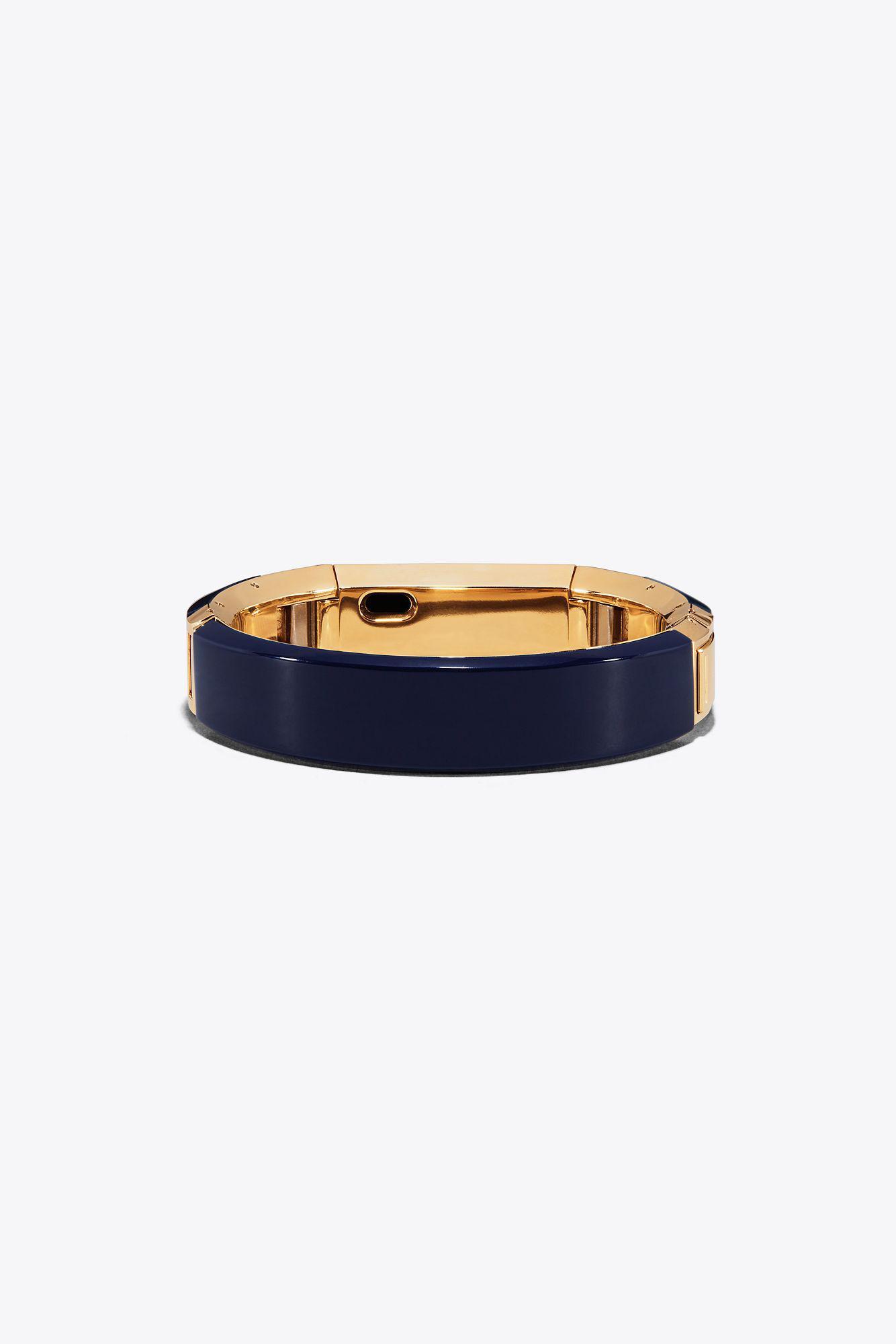 d4221de0a72 Lyst - Tory Burch For Fitbit Alta Bracelet in Blue