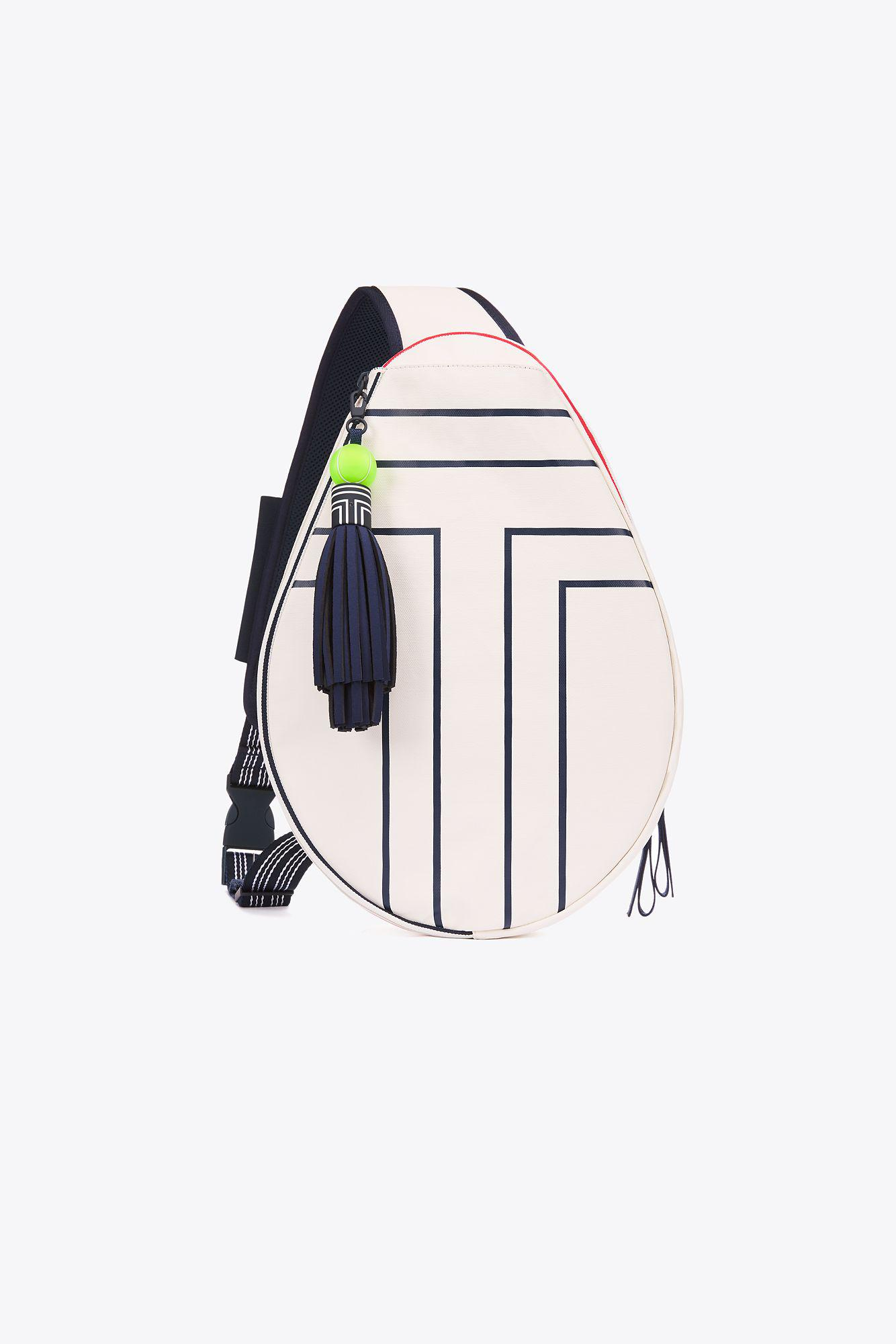 131e647f8cd Lyst - Tory Sport Canvas Tennis Sling Backpack