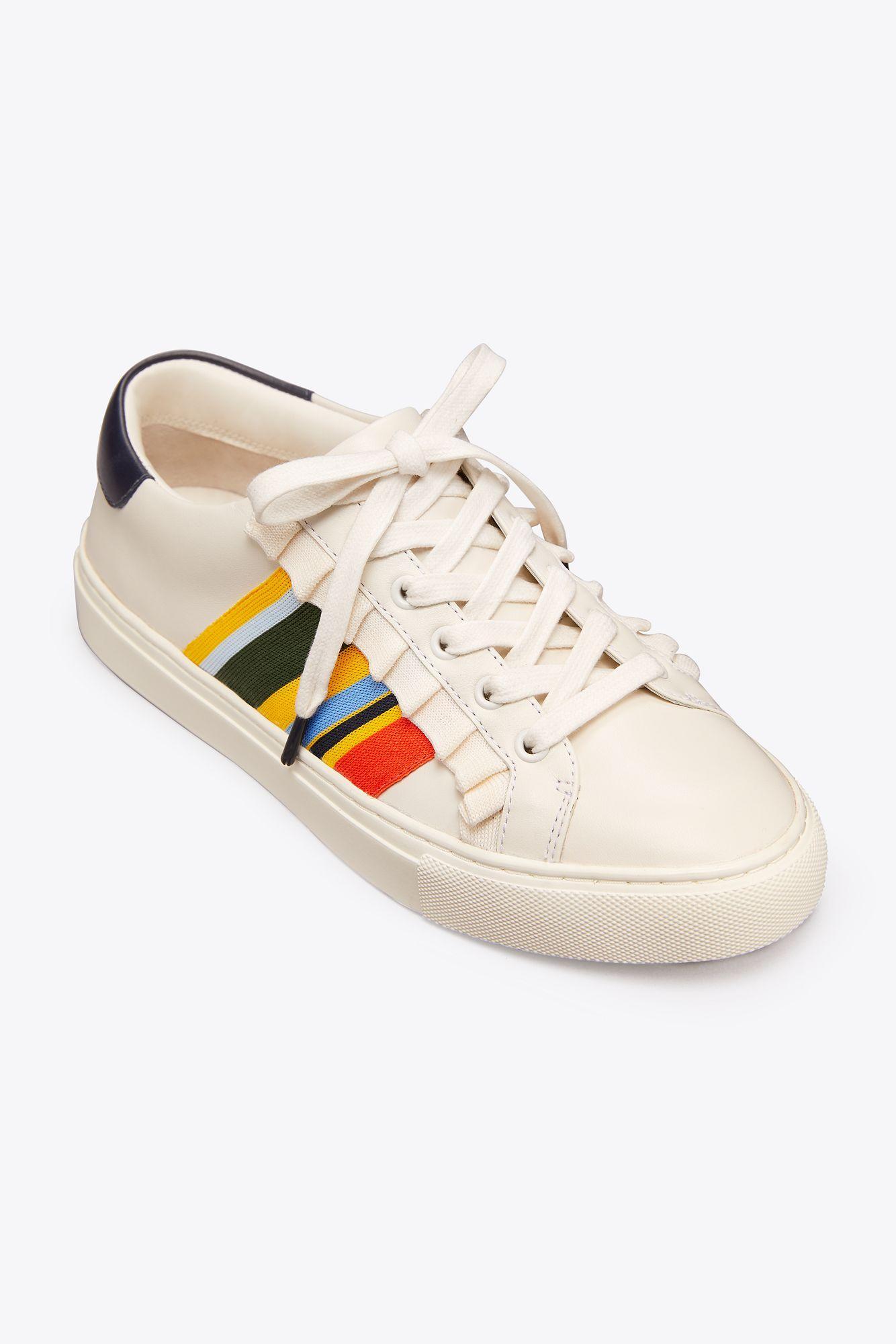 786e90f8779 Tory Sport - White Ruffle Sneaker - Lyst. View fullscreen