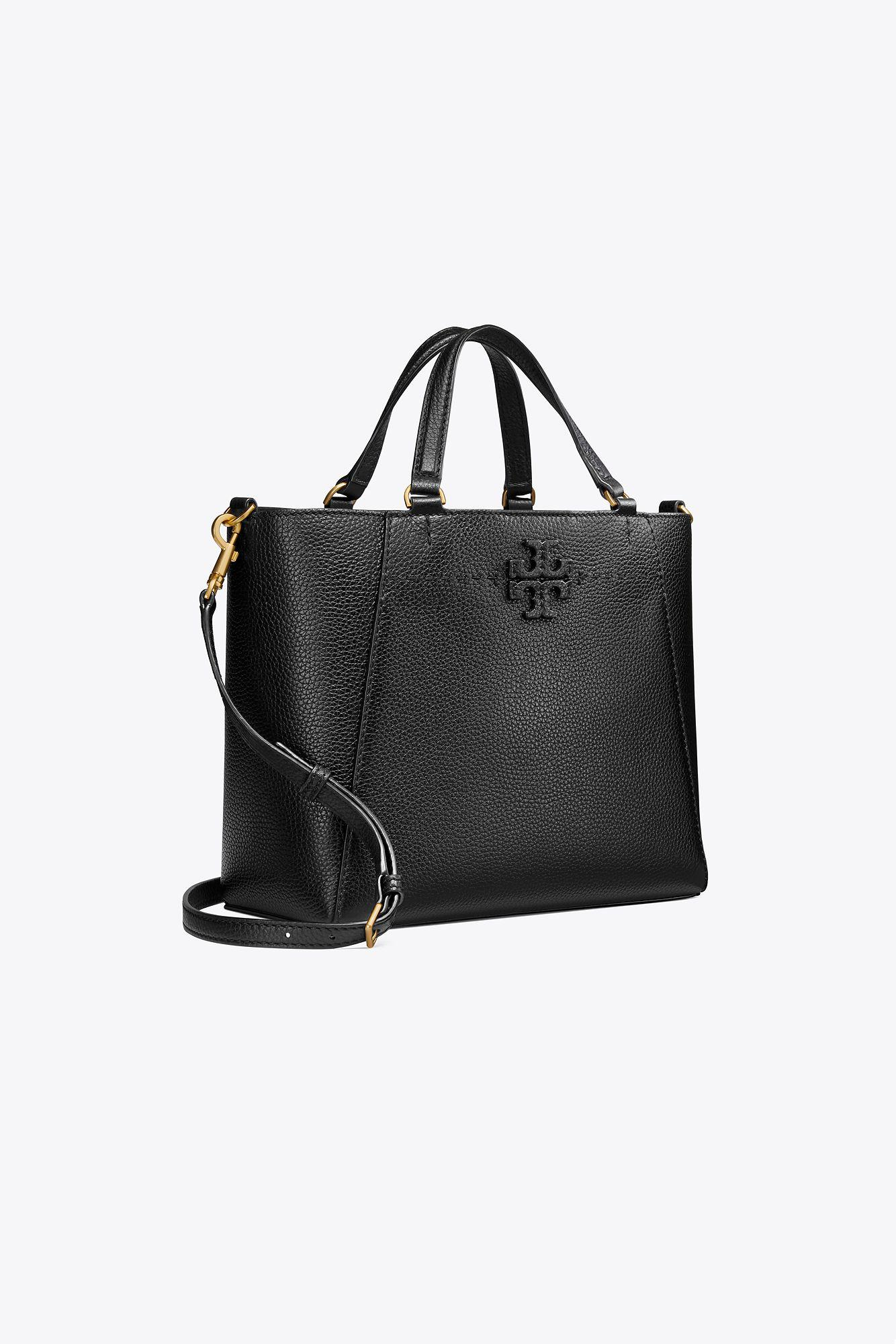 2be63bf369fa Tory Burch - Black Mcgraw Small Carryall - Lyst. View fullscreen