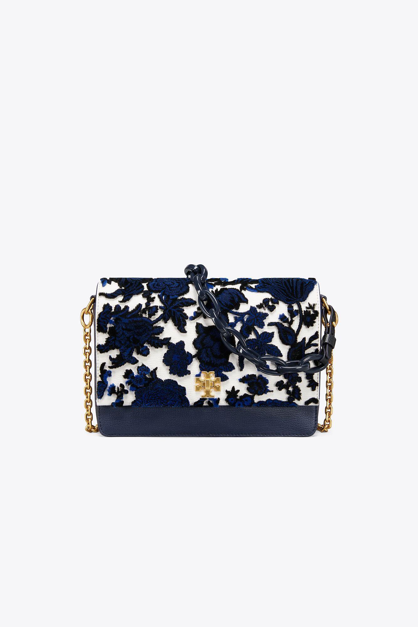c245f600e91 Lyst - Tory Burch Kira Fil Coupe Shoulder Bag in Blue