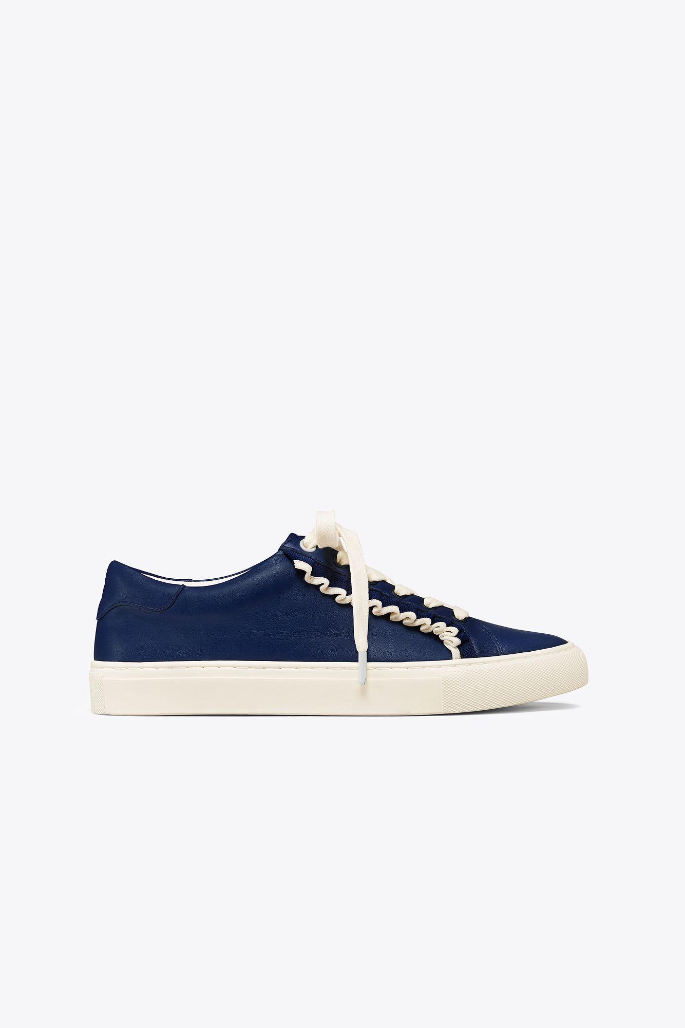 26b67e9a332 Lyst - Tory Sport Ruffle Sneaker in Blue