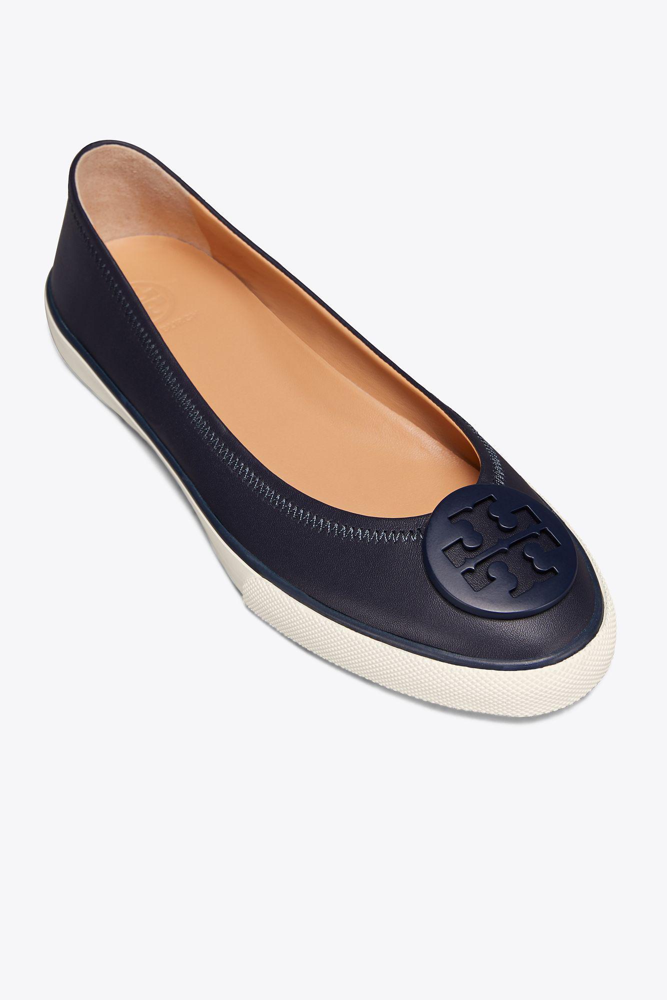 fb3a65a99068 Lyst - Tory Burch Skylar Ballet Sneaker in Blue
