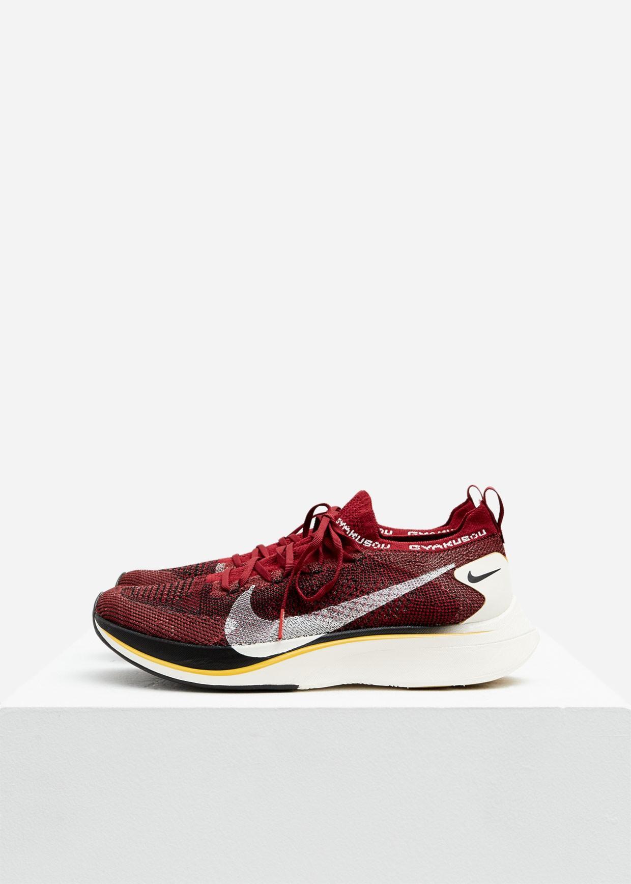 a34b35645da83 Lyst - Nike Gyakusou Vaporfly 4% Flyknit Sneaker in Red for Men