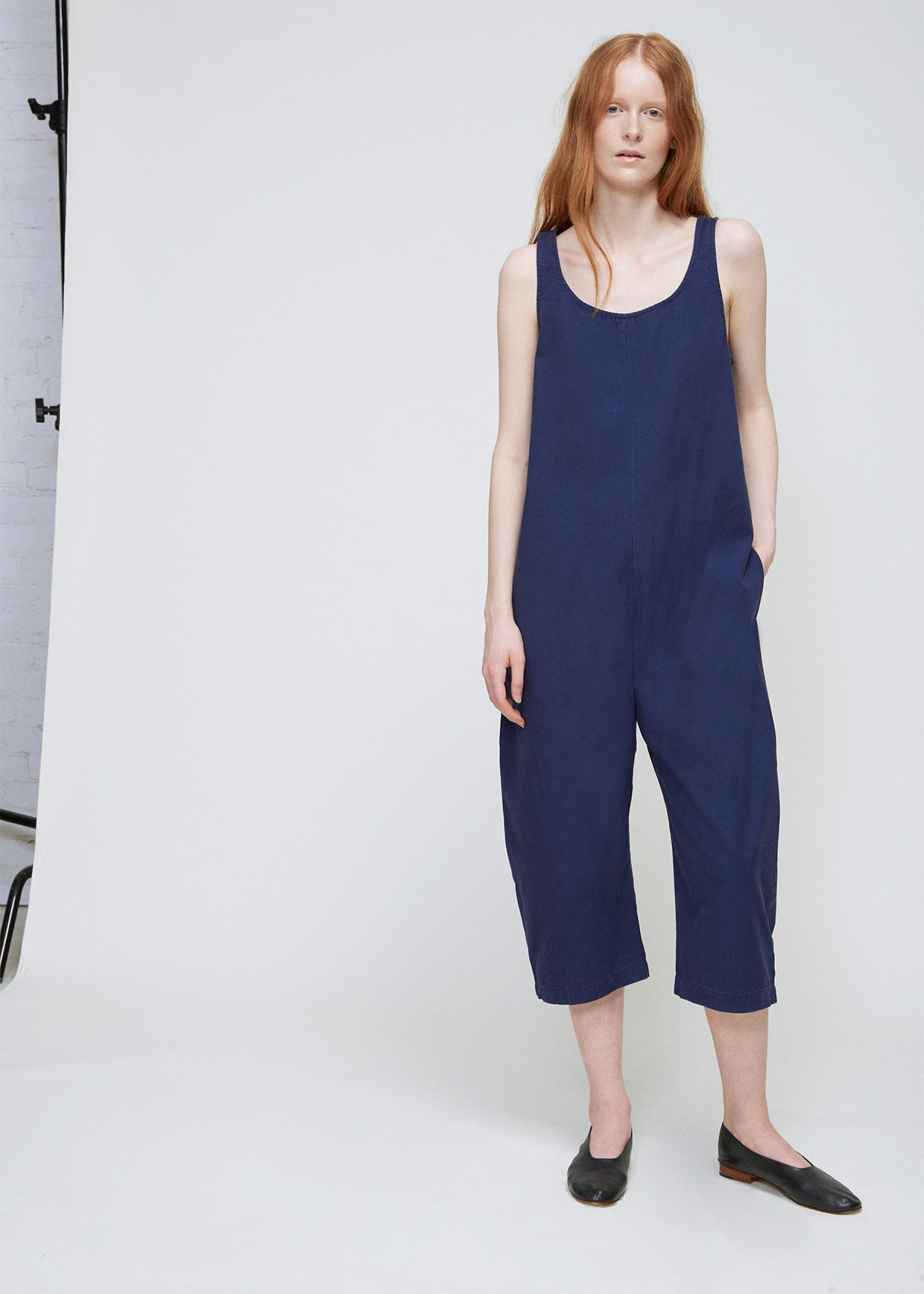 d554534f4907 Lyst - Ilana Kohn Marine Canvas Gary Jumpsuit in Blue