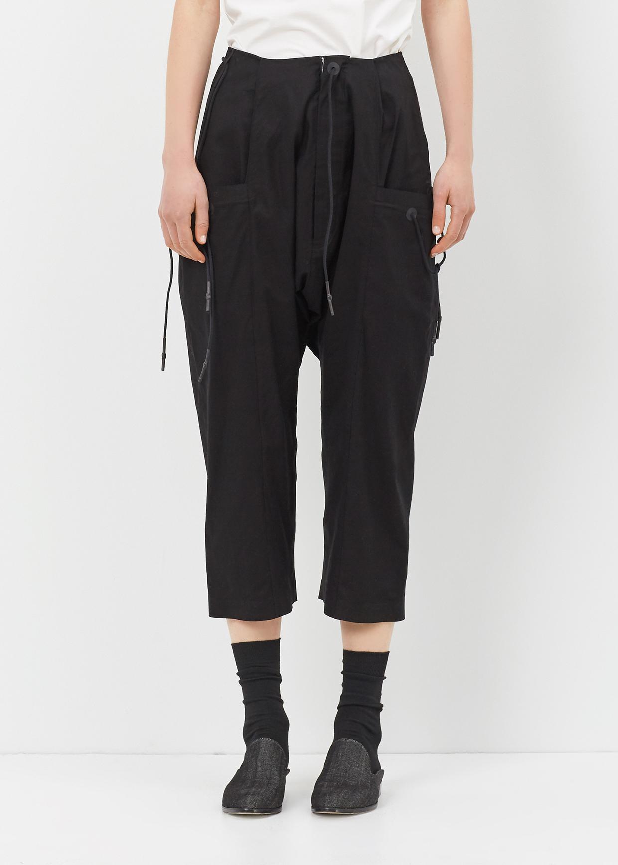 Lyst Y 3 Black Worker Pant In Black