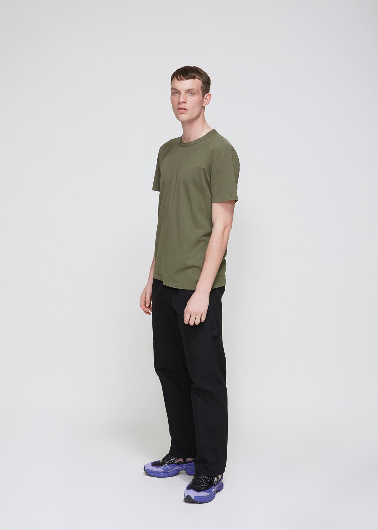 928cb5f35 Lyst - Our Legacy Army Jersey Perfect Tee in Green for Men