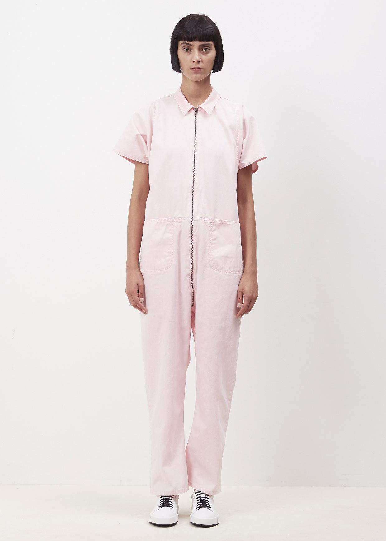 f88fbe5ee4c Lyst - Rachel Comey Pink Acid Wash Barrie Jumpsuit in Pink