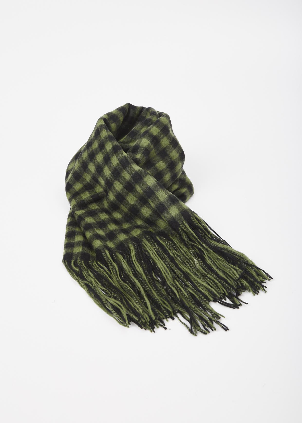 Hope Green Check Cover Scarf in Green | Lyst