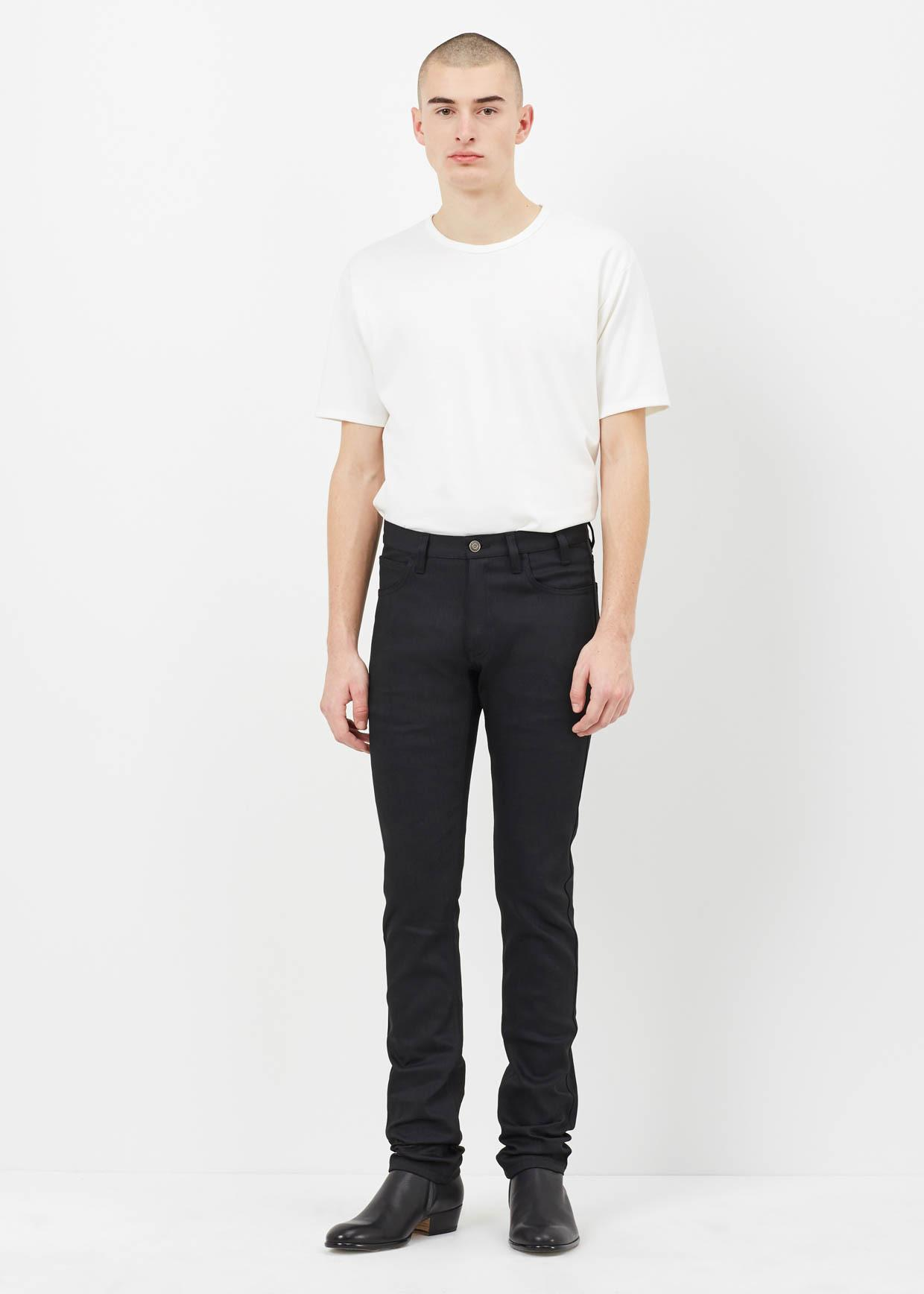 lyst jil sander black lomax jean in black for men. Black Bedroom Furniture Sets. Home Design Ideas