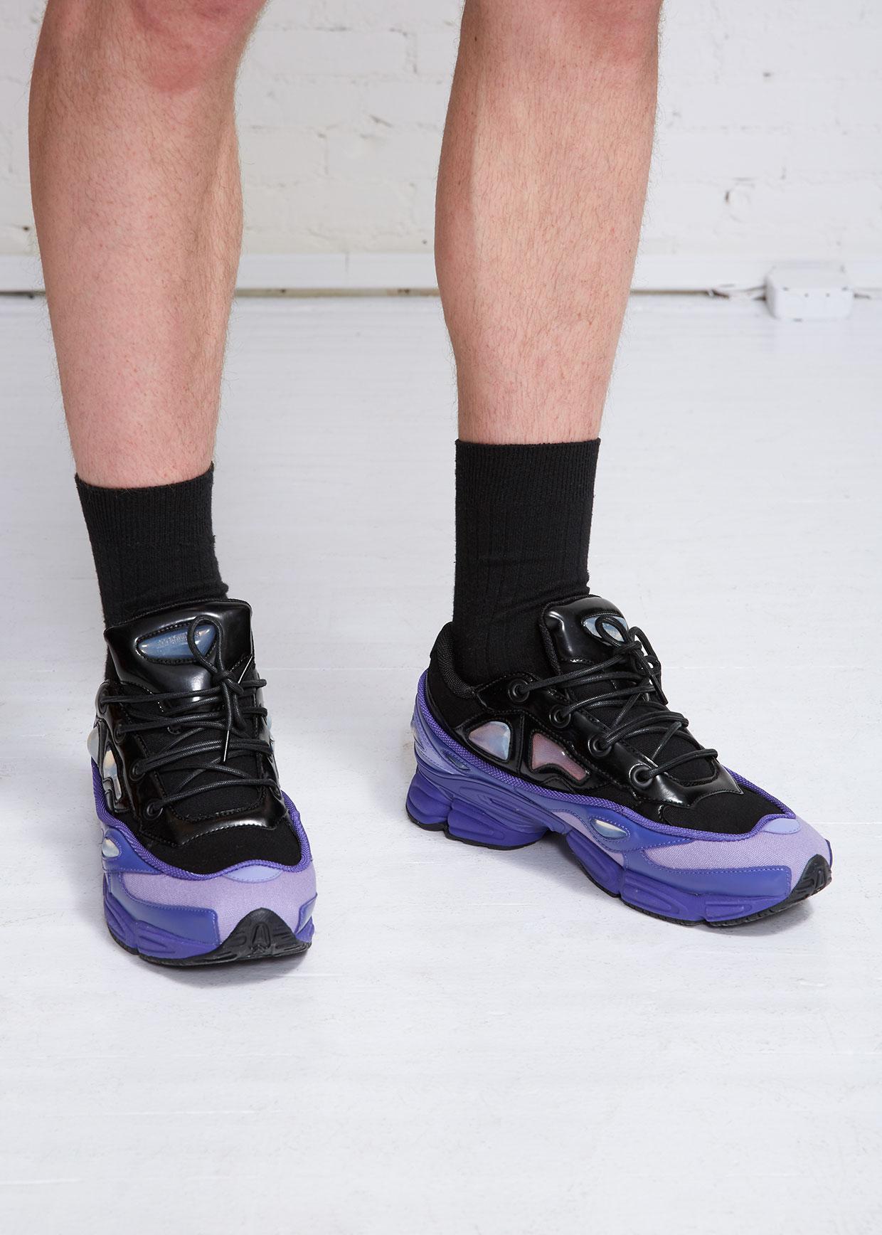 Adidas By Raf Simons Purple Ozweego Iii for men