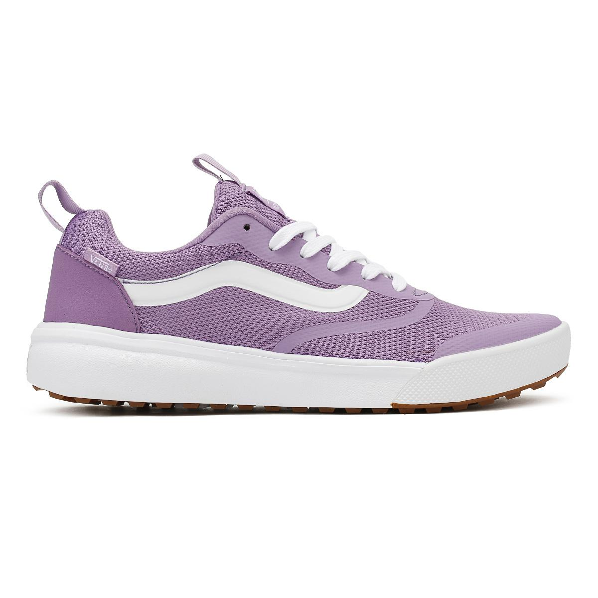 e172939a36c63b Lyst - Vans Womens Diffused Orchid Purple Ultrarange Trainers in Purple