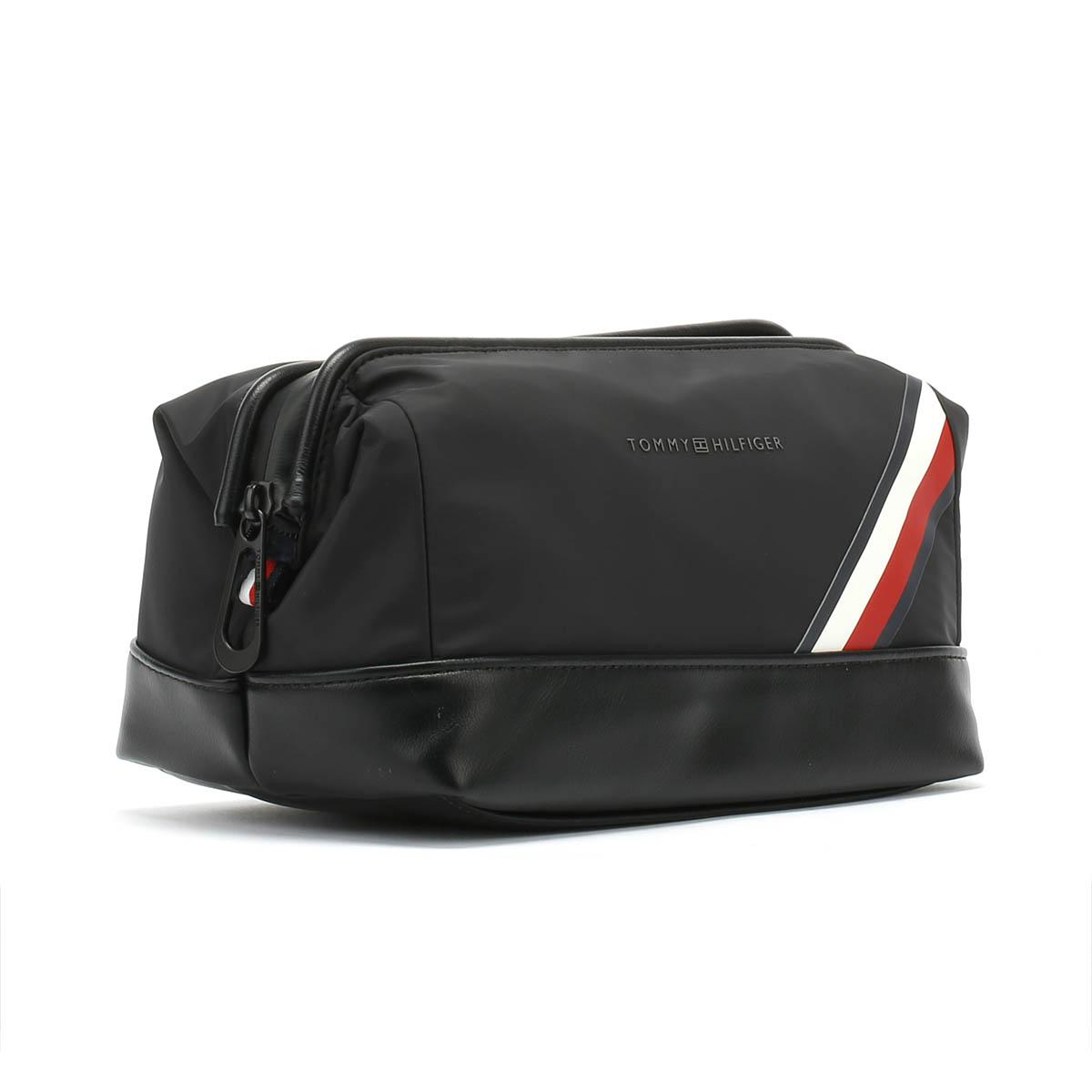 68411719fb Tommy Hilfiger Easy Nylon Framed Black Wash Bag in Black for Men - Lyst