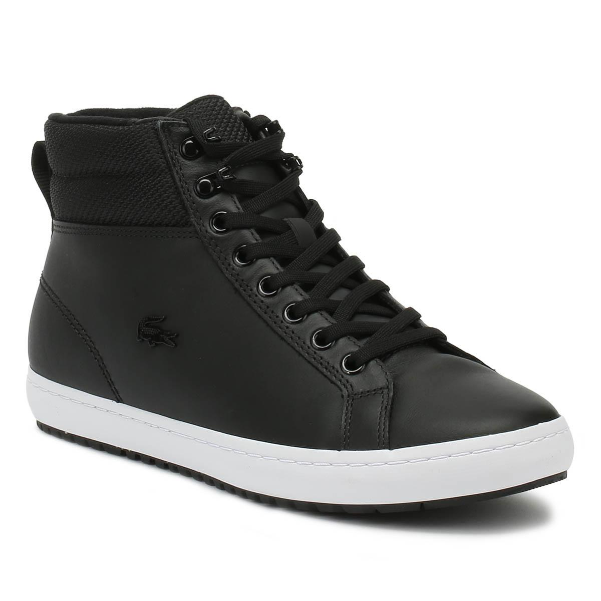 Lyst - Lacoste Straightset Insulac 318 1 Womens Black Trainers in Black 2a4b28d4c6