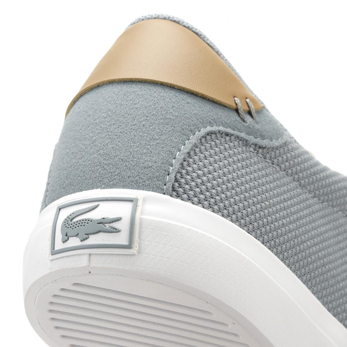 333dacecf701f6 Lacoste - Gray Mens Grey  Light Tan Court Master 118 1 Trainers for Men -.  View fullscreen