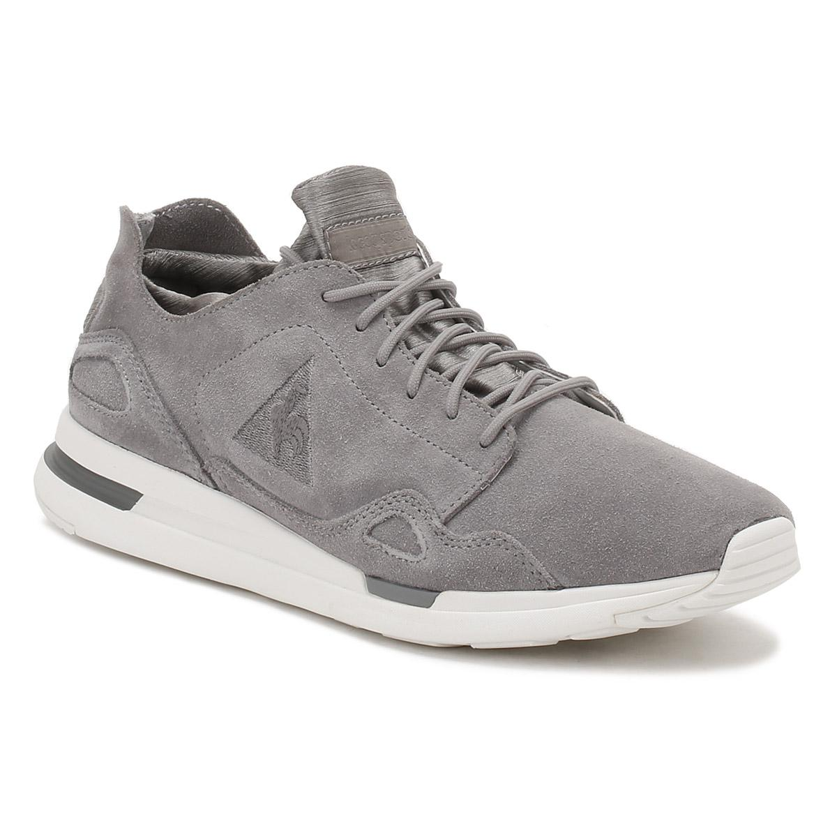c3f6d1cf6034 Le Coq Sportif Womens Frost Gray Lcs R Flow W Trainers in Gray for ...