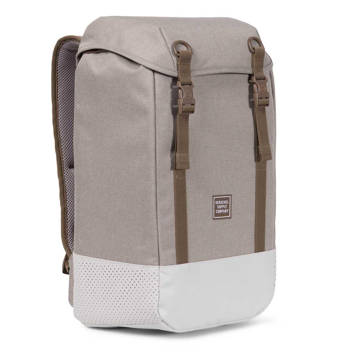 e4b5c45fc2 Herschel Supply Co. - Natural Light Khaki Crosshatch Iona Backpack - Lyst.  View fullscreen