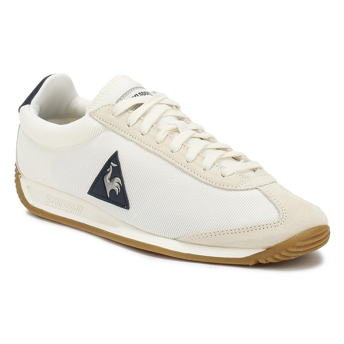 le coq sportif QUARTZ - Trainers - marshmallow/dress blue aswngN8OX