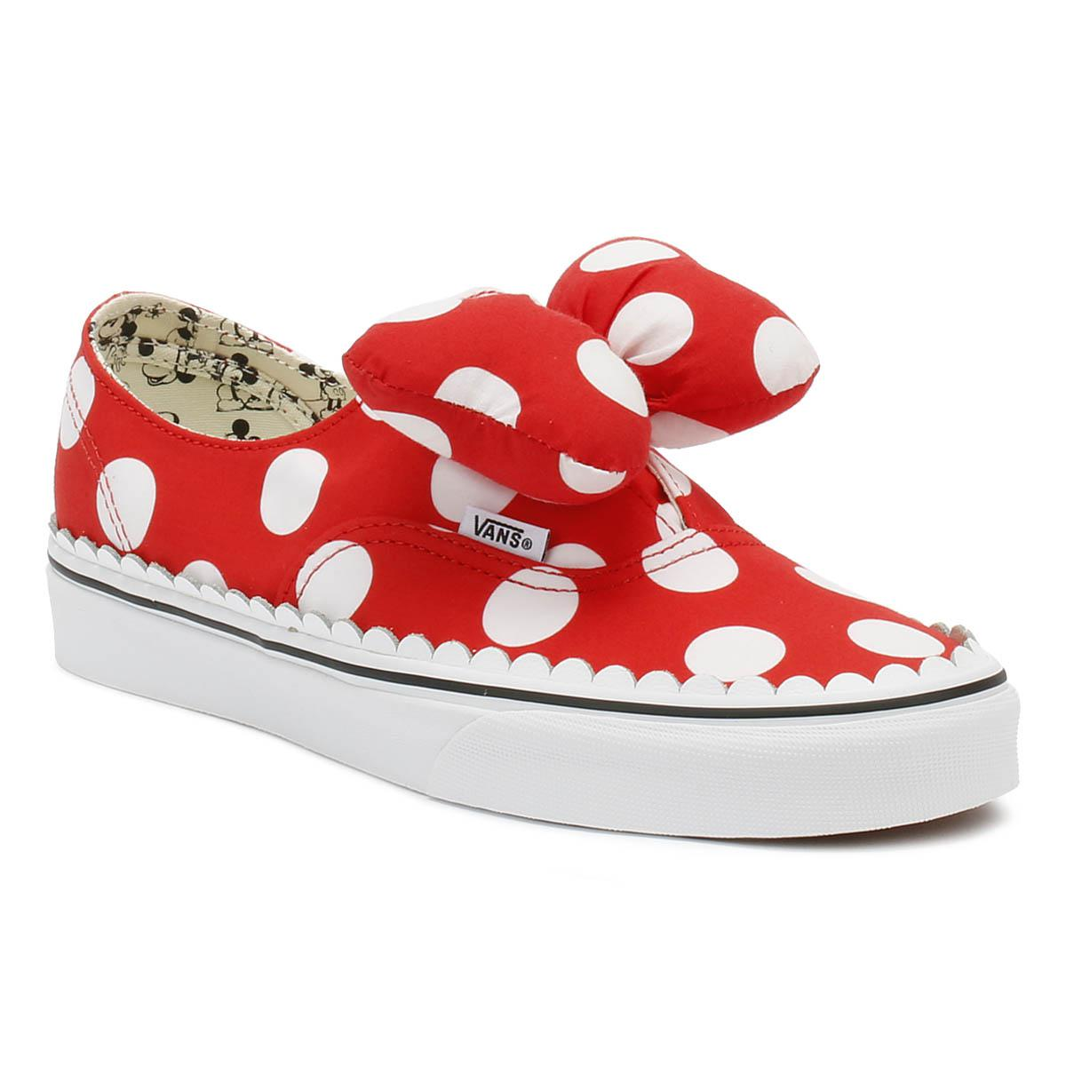 dbdc525668c19a Vans X Disney Authentic Gore Red Spot Trainers in Red - Save 62% - Lyst