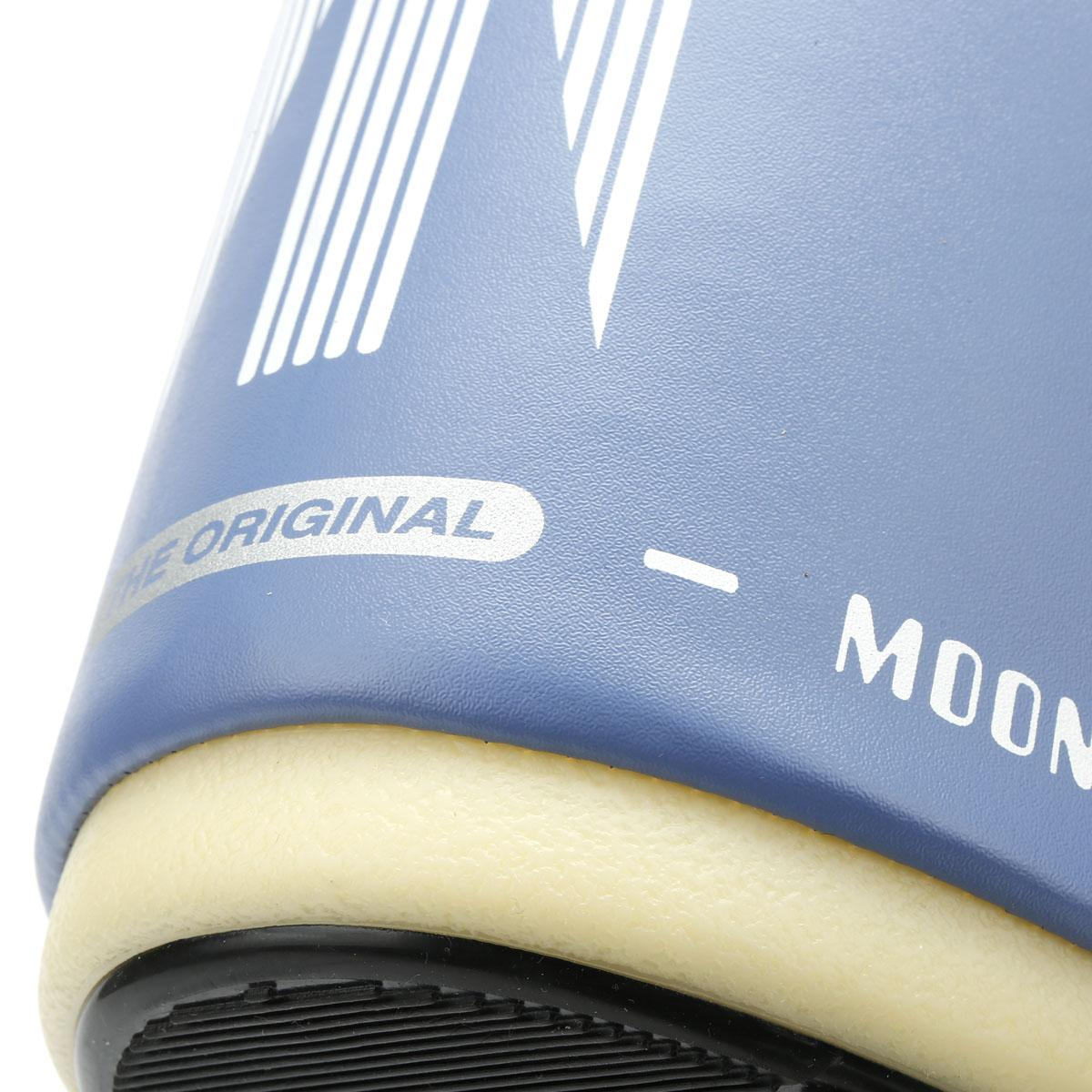 051d824e8cec Moon Boot - Blue Classic Icon Womens Stone Wash Nylon Boots - Lyst. View  fullscreen