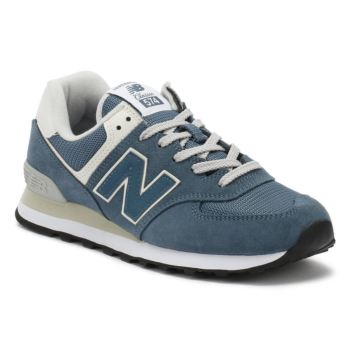 new balance 574 womens blue