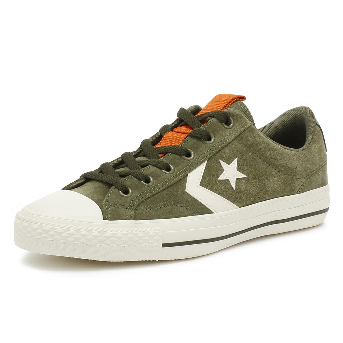 93467dcc19bf82 Converse - Star Player Ox Mens Field Surplus Green Trainers for Men - Lyst.  View fullscreen