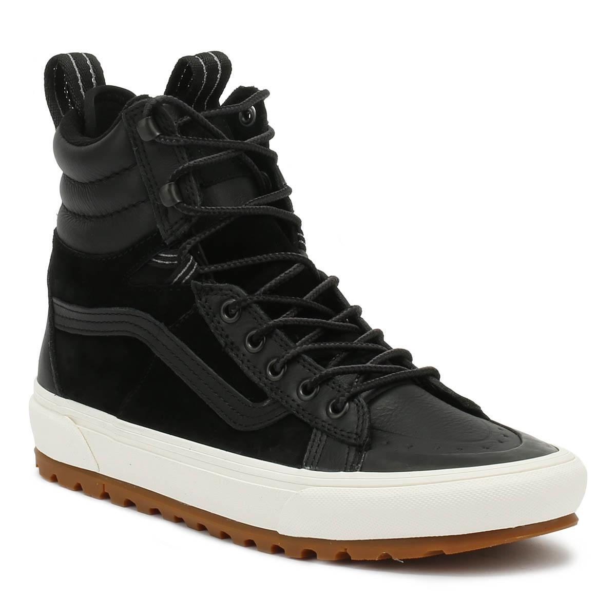 64fb6d6adb Lyst - Vans Sk8-hi Mte Dx Black Boots in Black for Men