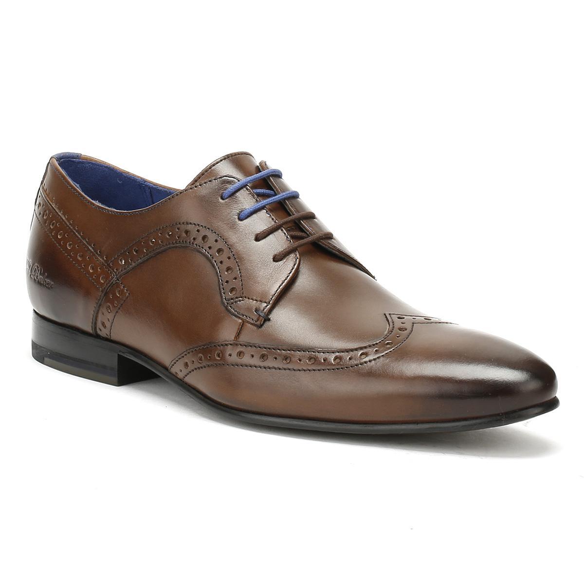 Ollivur Mens Shoes Tan