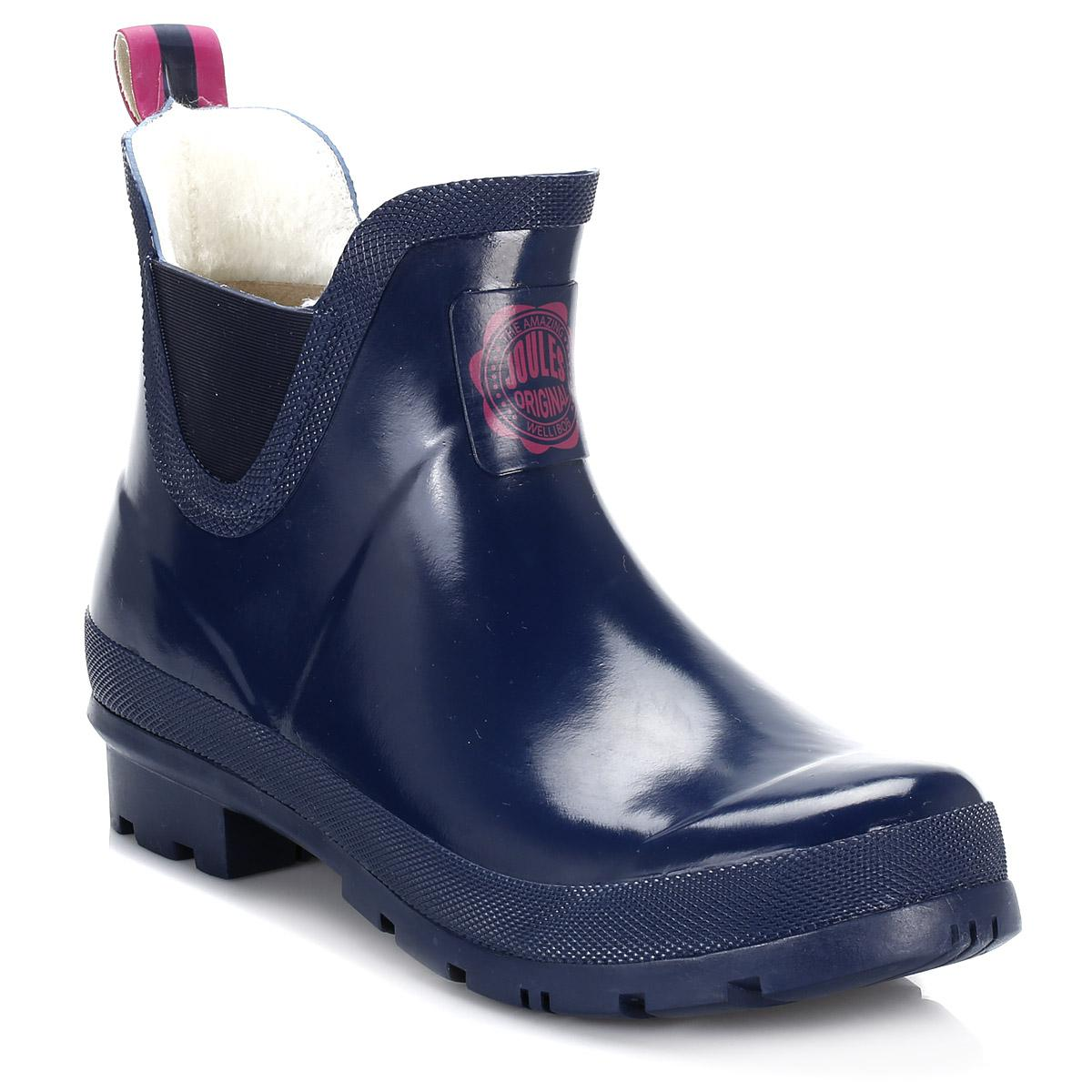 Joules Womens French Navy Wellibob Wellington Boots in ...