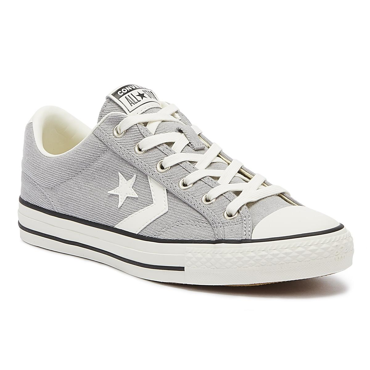 97ccf75978a1 Converse Star Player Ox Mens Dolphin Grey Trainers in Gray for Men ...